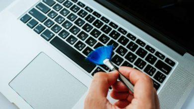 laptop klavye temizleme