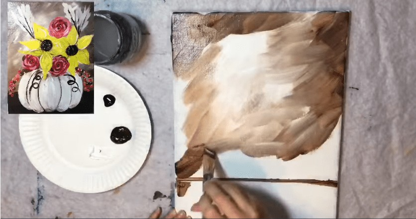 tuval arka tablo