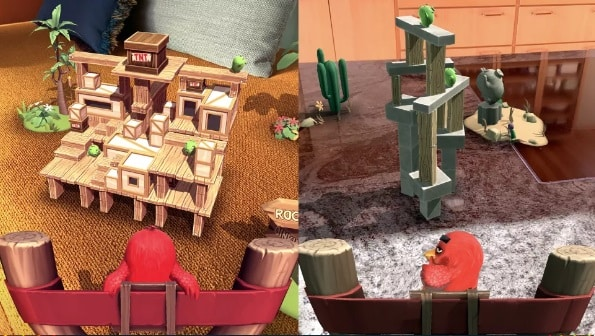 Angry Birds AR Domuzlar Adası